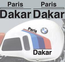 BMW  R80G/S GS Paris Dakar Tank Stickers lettering,adesivi,autocollant,pegatinas