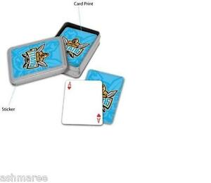 NRL Gold Coast Titans Poker Quality Playing Cards in Tin