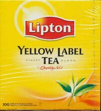 LIPTON TEA Natural - 100 Tea Bags - Kosher Israel