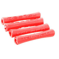 4 x MTB Red Road Bike Outer Brake Gear cable protector Gear Cable frame #223
