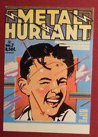Carte postale MÉTAL HURLANT. Couverture du N° 7 - neuf