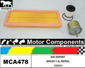 FILTER SERVICE KIT for CITROEN DS5 DSPORT EP6CDT 1.6L PETROL 03/2013