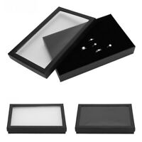 Velvet Jewelry Organizer Display Earring Ring Storage Tray Box Case Little