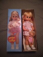 "Rare 19"" Musical Lullaby ""Sandy & Candy"" Doll In Original Box"