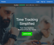 Employee Time Clock Software, Remote Access, Unlimited Users, Unlimited Devices!