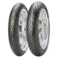 Coppia gomme pneumatici Pirelli Angel Scooter 100/80-16 50P 130/80-16 64P
