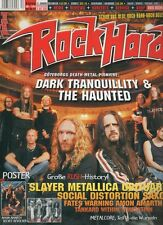 ROCK HARD Metal Mag 2004 12 Dark Tranquillity The Haunted Rush Slayer Obituary