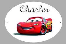 Plaque de porte Cars
