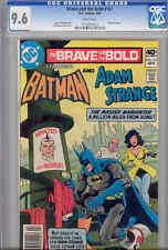 Brave and the Bold #161 CGC 9.6  1980  DC  Comic featuring Batman & Adam Strange