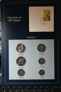 Coins Of All Nations JAMAICA 1986-1992~1~5~10~20~50~Cents Gem Unc