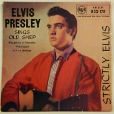 "ELVIS  PRESLEY   7""   EP    Strictly Elvis   UK.PRESS.   RAR"