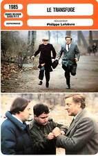 FICHE CINEMA : LE TRANSFUGE - Cremer,Bennent,Balmer,Lefebvre 1985