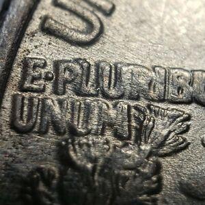 1946 Silver Walking Liberty Half Dollar - Mint Error DDR Double Die Rev - Y3565