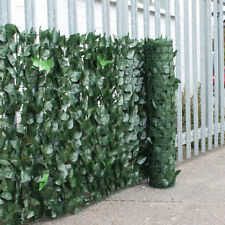 Artificial Ivy Leaf Hedge Privacy Screening Garden Fence Panel Roll - 1m x 3m