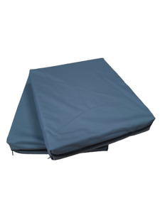 CHARCOAL Garden seatpad with Waterproof cover Outdoor Chair Cushions Rattan Seat