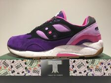 """SAUCONY G9 SHADOW 6 x caratteristica High Roller """"The Barney"""" ~ S70183-2 ~ UK 12"""