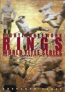 Fedor Emelianenko & Tsuyoshi Kohsaka Signed 2001 Rings MMA Program PSA/DNA Pride