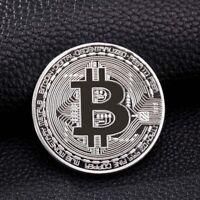 Sliver BTC Coin commemorative Physical Bitcoins Casascius Bit BTC Collection