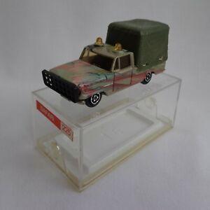 Vintage 1970's Majorette No225 Dodge Simca Safari Pick-Up RARE VARIATION BOXED!