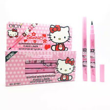 Pink Hello kitty Eyeliner Beautiful Makeup Women Fashion Cute Black Waterproof