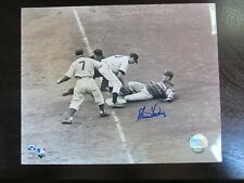 Clem Labine Autograph / Signed 8x10 Photo Brooklyn Dodgers Name Only