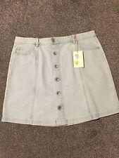 M&S Indigo Collection Denim Mini Skirt  BNWT Size 16