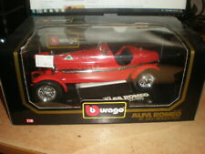 Bburago 1/18  #3014 Alfa Romeo 8C 2300 Monza 1931   red    MIB