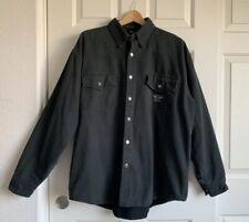 harley davidson Man's An American Legend 100%cotton Black Jaket Size XL