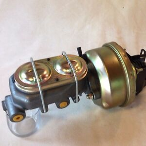 """1961-72 Ford Galaxie 7"""" Brake booster & master cylinder w/ proportioning valve"""