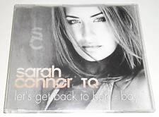 SARAH CONNOR - LET'S GET BACK TO BED - BOY! - 2001 UK ENHANCED CD SINGLE