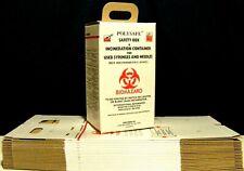 20 World Health Organization Outbreak Needle & Syringe Incineration Boxes bin 5L