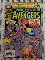 Marvel Super Action (1977) Marvel - #37, Avengers, Direct, Thomas/Buscema, FN