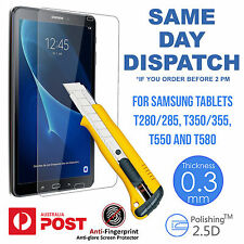 Tempered Glass Screen Protector for Samsung Tab A T280 285 T350 355 T550 T580