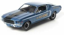 1:18 Greenlight - jimbo's Puro Aceite go go gone Homenaje Azul 1968 Mustang GT