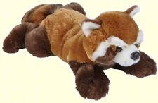 RAVENSDEN PLUSH RED PANDA LAYING 33CM - FR014RP SOFT TEDDY CUDDLY WILD BEAR