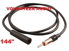 """Scosche AXT144 144"""" Antenna Extension Cable Am Fm And Interior 12 Feet Long"""