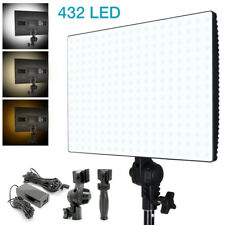 Lusana Studio 432 Bi-Color LED Dimmable Photo Lighting Panel 4500L 3200K-5600K