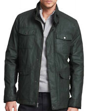 New KENNETH COLE NEW YORK Coated Cotton Military Coat Jacket, NWT【L】【$250】*LAST*