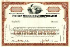 Philip Morris Incorporated - Stock Certificate