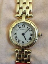 Cartier Panthere 18K Yellow Gold Ladies Quartz Watch Round