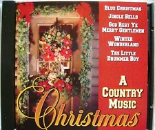 A COUNTRY MUSIC CHRISTMAS Blue Christmas CD Made in USA