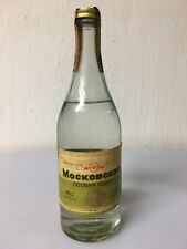 Moskovskaya Osobaya Vodka From The USSR 50cl 40% Vol Vintage Rara