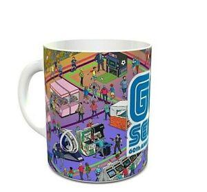 Sega Arcade Games Sega 60th Anniversary Themed - Coffee MUG CUP - Sega - Retro