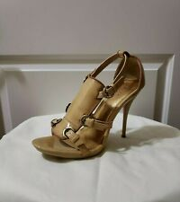 Womens Promise High Heel shoes US 10 Camel Color New in box