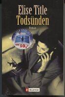 Elise Title - Todsünden