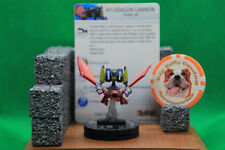 HeroClix - XY-Dragon Cannon #017 - Super Rare