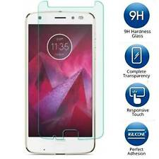 2X For Motorola Moto Z2 Force Tempered Glass Screen Protector Saver Anti-knock
