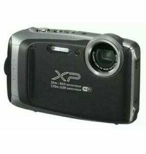 Fujifilm FinePix XP135 16.4 MP Digital Action Camera - Black - Free Shipping!