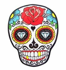 Mad Mags Sugar Senorita Rose Skull Skeleton Magnet Decoration, 5 1/4 Inch