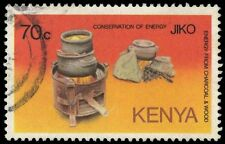 "KENYA 324 (SG339) - Energy Conservation ""Wood Stove"" (pf76618)"